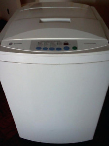 Ge portable washer apartment size 2.6cub
