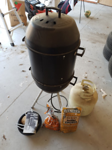 Coleman Propane Smoker and Grill