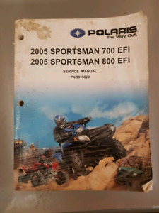 Polaris Sportsman Service Manual