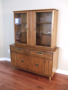 Vintage Buffet and Hutch