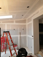 Drywall finishing, sound proofing, framing and t-bar ceilings