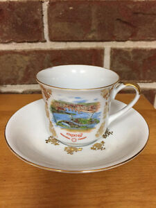 Collectible Expo 67 Cup & Saucer