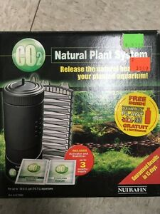 Co2 plant system