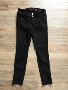 Black stretch pants/bottoms (worn only 5 times) - fit med/large