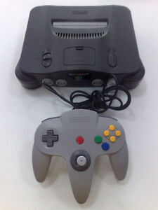 Nintendo 64 Console with all cords and controller PLUS Star Wars