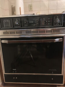 Built-in Oven and Stove Top