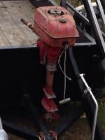 1938 chief outboard boat motor