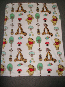 Winnie the pooh blanket $10.00  New Homemade Baby Quilt Very Nic