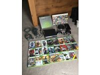 Xbox360 Elite 120GB with 23 games