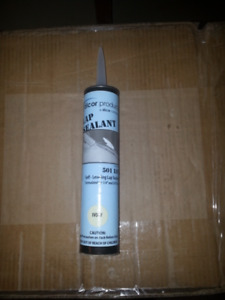 Roof Lap Sealant (Calking) for Camper and Motorhome Ivory Color