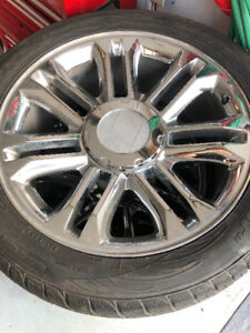 Cadillac Escalade wheels