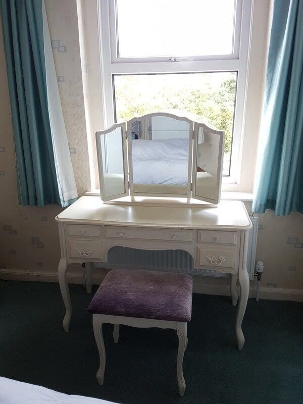 Laura Ashley Provencale Dressing table, mirror & stool set