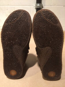 Men's Ocean Minded Leather Boots Size 9 London Ontario image 4