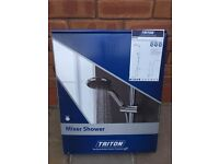 Triton MUSE Thermostatic Bar Mixer with Diverter shower