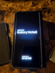 Samsung galaxy note8, 9 months old and unlocked