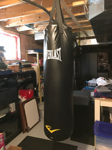Boxing bag / exercise bike