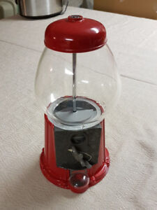 (pending) antique Collectable Continental Red Gumball Machine