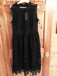 Black Lace Dress - New with Tags
