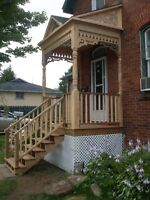 Porch and decks