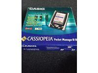 Casio Cassiopeia pocket manager