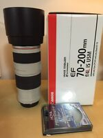 Canon 70-200mm f/4.0 IS L for sale