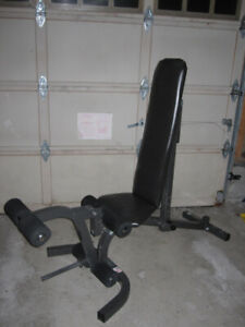 Decline Incline Bench  with  Leg Attachment gym weights exercise