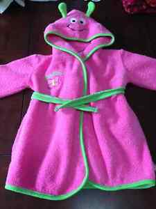 Girls sleepers and hooded housecoat