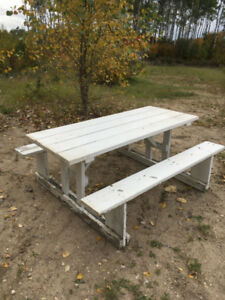 Well-built Picnic Tables