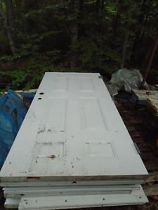 STEAL DOOR SLABS, VARIOUS SIZES