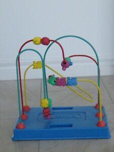 Rarely Used Playkool Classic Bead Maze