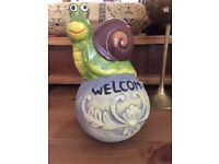 Aquarium Welcome sign accessories