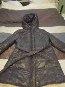 Size Large Winter Maternity Coat - Black Belleville Belleville Area image 1