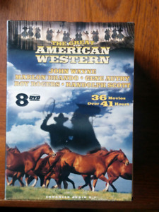 The great American Western DVD set
