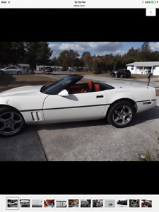 1986 Corvette convertible Indy 500 pace car