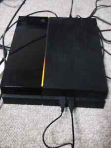 Ps4 with call of duty black ops 3 for 320$