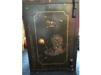Antique Fire Resistant Safe for sale - Philips and Sons Birmingham Vintage Collectors Item!