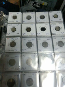 Canadian Nickel Coin Collection