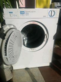 Compact tumble dryer