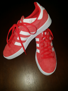 Red Womens Adidas Campus Shoes (Size US 7 1  47 2 UK 6)  04d559185