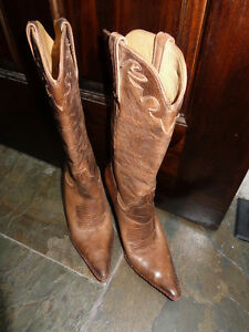 Lucchese Charlie 1 Horse cowgirl cowboy stilettos boots 6.5 7.5