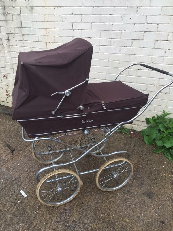 VINTAGE RETRO silver cross pram BOUNCY WHEELS 1970s RARE  : 86 from www.gumtree.com size 600 x 800 jpeg 89kB