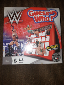 Guess Who? - WWE Edition