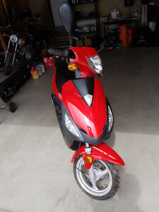 Red Taotao CY50-T3 2015 scooter