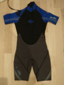 Shorty Wetsuit, size 14 years, excellent condition