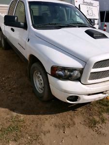 2005 Dodge Ram Quad Cab 4x4 220k 4.7l
