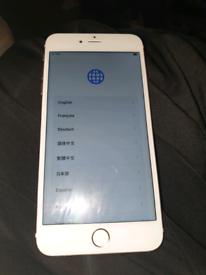 IPhone 6s plus 32g memory rose gold