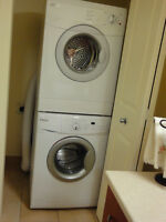 Stackable Front Loading Whirlpool Washer Dryer