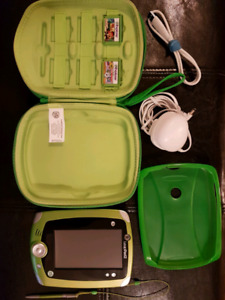 Leappad 2 with games, carrying case and charger
