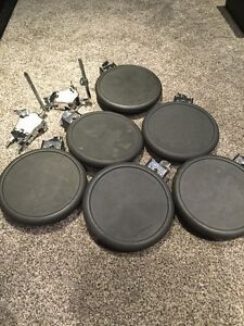 Roland pd-8 drum pads and clamps