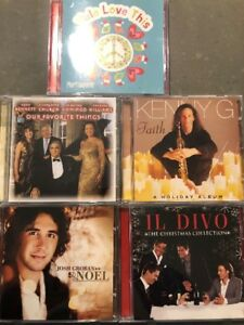Christmas CDs, Oranments, Cookie Jar